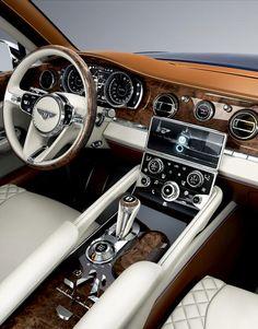 Bentley SUV EXP 9 F Interior | #Dream_Car_Interiors
