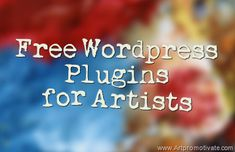 free wordpress plugins for artists