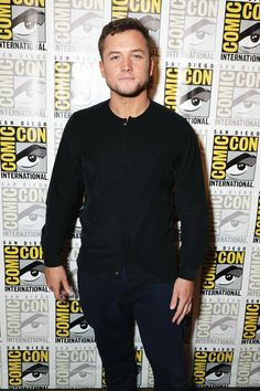 Taron Egerton  'Kingsman: The Golden Circle' panel, Comic-Con International, San Diego | July 20, 2017