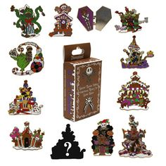Pin by Shelby Cooper on Disney Pins: Haunted Mansion/Nightmare ...