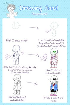 DRAW A CIRCLE, THAT'S THE EARTHSome people asked me for this and here is it!I don't really use a base for him anymore since I've draw him lots of times allready, but, sometimes I need to use it so I can see how exactly the pose will be. Undertale Drawings, Undertale Au, Chibi, Oc, Base, Times, People, People Illustration, Folk