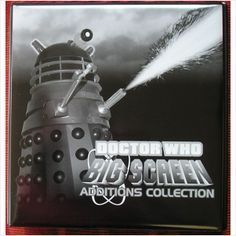 Dr Doctor Who Big Screen Additions MONO Trading Card Binder + Base Set + Pages on eBid United Kingdom