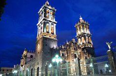 Catedral of Puebla, Mexico