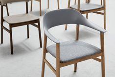 "Simon Legald's chair for Normann Copenhagen is ""draped in nostalgia"""