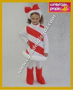 Disfraz on pinterest 80s costume mini top hats and top hats - Disfraces navidenos para ninas ...
