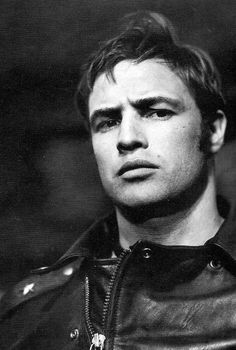 Marlon Brando in The Wild One, 1953.
