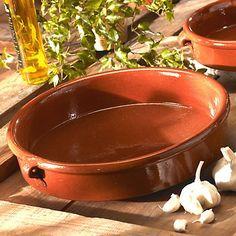 La Tienda Terra Cotta Cazuela Dish (12.8 inch, 96 oz / 12 cup capacity) *** Learn more by visiting the image link.