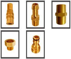Threaded hose fittings brass #Threadedhosefittingsbrass