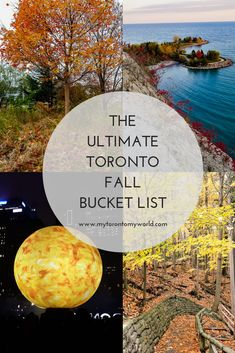 The Ultimate Toronto Fall Bucket List: 16 Things to in Toronto This Fall Toronto Falls are brief but there's lots to do and see so read on for this list of things to do in Toronto this fall that'll guarantee that your Toronto Fall Bucket list is complete! Cool Places To Visit, Places To Travel, Travel Destinations, Places To Go, Travel Things, Alberta Canada, Canada Vancouver, Toronto Travel, Ontario Travel