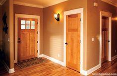Lựa chọn cửa gỗ thông phòng cho biệt thự 2016