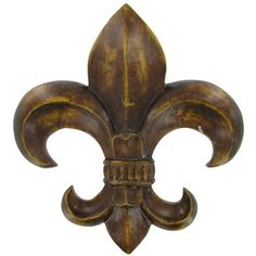 Bronze Polyresin Fleur-De-Lis Wall Plaque | Shop Hobby Lobby