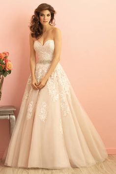 Wedding dress - Allure Romance 2858