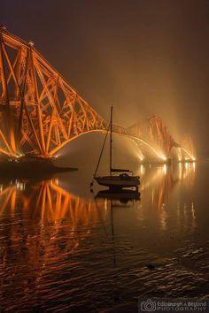 Forth Rail Bridge Nights