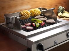 BlueStar's Indoor Charbroilers combine heavy-duty, commercial grade stainless steel construction, high performance, and beautiful design to bring classic professional grilling to the home kitchen.
