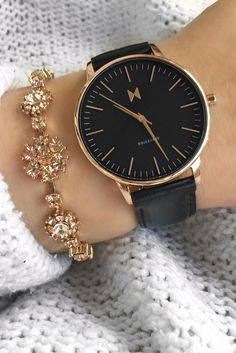The Santa Monica watch from the Boulevard Collection. #accessorize #rosegold #mvmtwatches