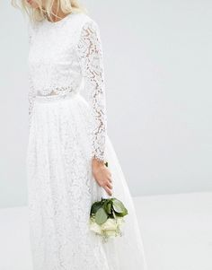 f856d181ca1e ASOS | ASOS BRIDAL Lace Long Sleeve Maxi Prom Dress Long Sleeve Maxi, Prom  Dresses