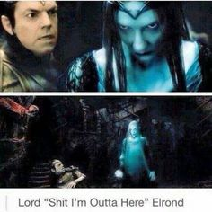 Image result for elrond lindir humour