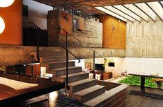 Restoration of 1970s Alto de Pinheiros House by Arquiteto Paulo Bastos & Associates.  Brazil.
