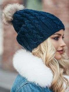 6c9c6a070dc Pom pom hat fleece lined. If you need the matching scarf and gloves to this