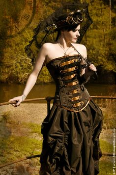 This is actually a really good example of  a corset for a slim woman.