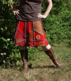 Hoi! Ik heb een geweldige listing gevonden op Etsy http://www.etsy.com/nl/listing/158971118/womens-upcycled-clothing-patchwork-skirt