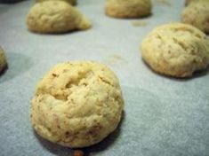 Rezept: Plätzchen: Schnelle Marzipan-Knöpfe