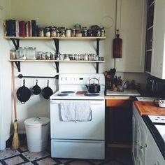 I finally put shelves up!