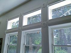 Beautiful detail framing these windows