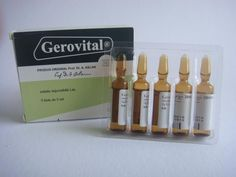 GEROVITAL     Gerovital-H3 – Php 1,800.00  FOUNTAIN OF YOUTH   by Professor Ana Aslan of Bucharest.   Also known as GH3 or KH3: Gerovital-H3's principle ingredi