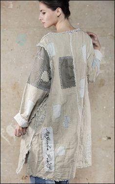Magnolia Pearl, Ewa i Walla un Magnolia Pearl, Altered Couture, Sewing Clothes, Diy Clothes, Ropa Shabby Chic, Mode Boho, Altering Clothes, Boho Fashion, Fashion Design
