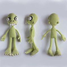 Zombie boy in singlet amigurumi crochet pattern by Ds_mouse