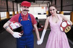 Mario Engagement Shoot. Too funny scroll through the images, they saved the best for last.