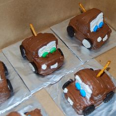 Cupcakes by Allison Smith: Tow Mater