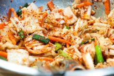 Napa Cabbage & Daikon Kimchi