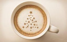 Christmas tree coffee MILK mug achristmasblog christmas drink christmas coffee