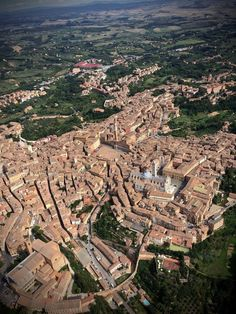 Toscana Italy, Siena Italy, Italy Italy, City From Above, Sustainable Tourism, Light Of Life, World Cities, Aerial View, Scenery