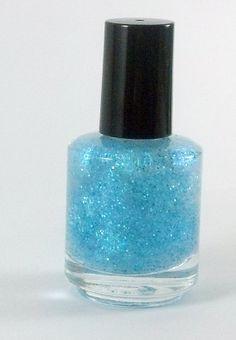 SALE ITEM April Showers  Nail Polish  Blue by Sparklysharpfabulous, $6.00