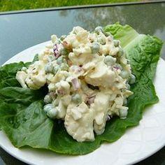 Ginny's Cauliflower and Pea Salad Allrecipes.com