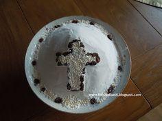 Fields of Basil: 40 Lenten Recipes # 6 Koliva Lenten, Baby Cookies, Confectioners Sugar, Dried Cranberries, Graham Crackers, Raisin, Oatmeal, Vegan, Fields