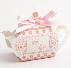 20 DIY Tea Pot / Cup Cake Vintage Wedding by holysfavorites