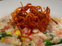 Wancheese Fisherman's Risotto recipe from Diners, Drive-Ins and Dives via Food Network