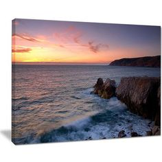 DesignArt Winch Natural Park Sintra Cascais Photographic Print on Wrapped Canvas Size:
