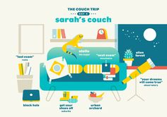 Couch trip on Behance
