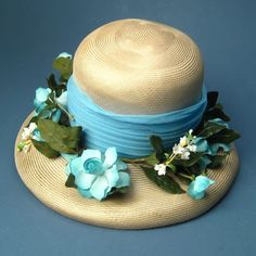 Could you see Trudy Campbell (Alison Brie) wearing a hat like this when she was dancing the Charleston with Pete in My Old Kentucky Home episode? Very vintage straw hat with silk flowers from Bullock's Wilshire. Fun as a Kentucky Derby hat! My Old Kentucky Home, Kentucky Derby, Tea Party Hats, Alison Brie, Charles & Ray Eames, Wearing A Hat, Derby Hats, Hollywood Regency, Mad Men