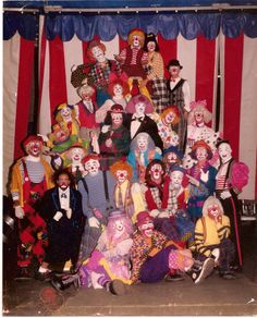 Ringling Brothers Barnum and Bailey Red Unit Clown Alley 1989