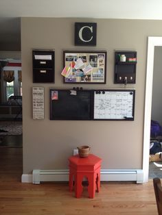 Organization wall~ DONE