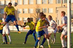 FC Futura - Gnistan - Gnistan #9 Kron Rexhepi scores equalizer 3-3 on 90+ played.