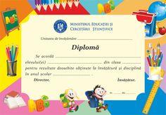 Imagine similară Teacher Supplies, Romania, Frames, Graduation, Printables, Deco, School, Drawings, Spring