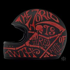 Hand Painted Helmets - BMD Design's Private Collection Revealed