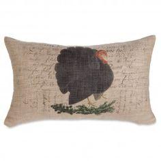 Turkey Time Pillow | Sturbridge Yankee Workshop